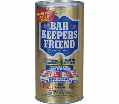 Bar Keepers Friend 11510 Cleanser And Polish 12 Ounce