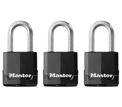 1ee10dcc7221 Master Lock M115XTRILFCCSEN 1-3/4 Inch Covered Padlock