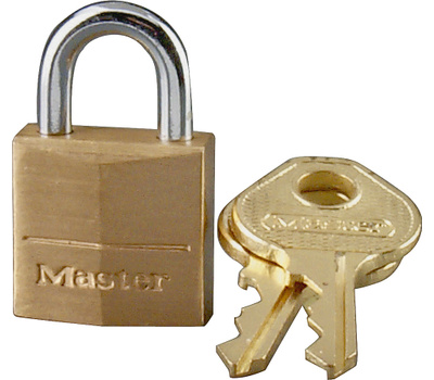 Master Lock 120D 3/4 Brass Pin Tumbler Padlocks