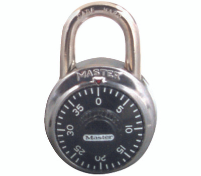 Master Lock 1500T 1-7/8 Steel Combination Padlock Pack Of 2