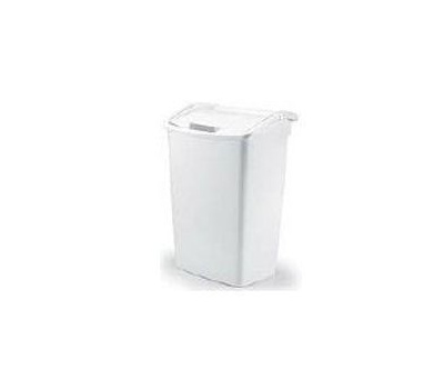 36 Qt Large Open Wastebasket Beauteous Rubbermaid Home FG60WHT 60 Quart Dual Action Wastebasket
