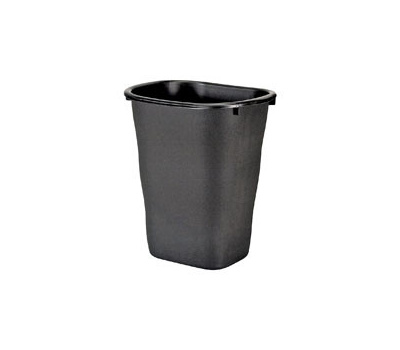 21 Qt Large Open Wastebasket Cool Rubbermaid Home FG60L60100WHT 60 Quart Basic Open Wastebasket