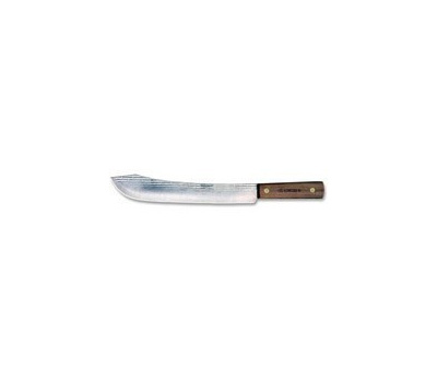 Ontario Knife 7-10 Old Hickory 10 Inch Carbon Steel Butcher Knife