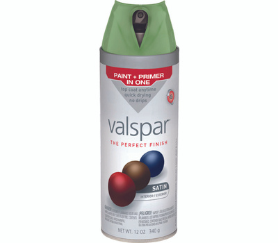 Valspar 85084 Premium Leafy Rise Satin Multi Surface Spray Paint