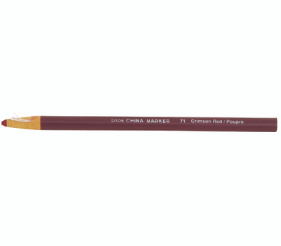Dixon Ticonderoga 00071 Phano Marker China Red Phano