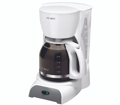 Mr Coffee SK12-RB Coffee Maker White 12 Cup