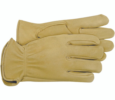 Boss 4085S Unlined Deerskin Drivers Gloves Small