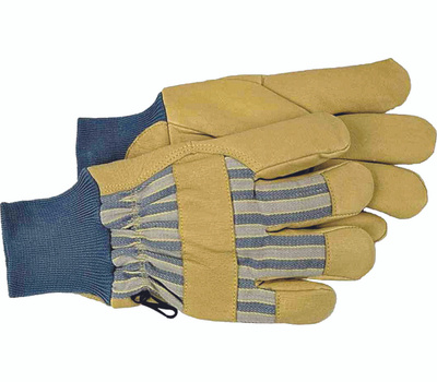 Boss 4341L Pigskin Leather Palm Insulated Knit Wrist Gloves Large