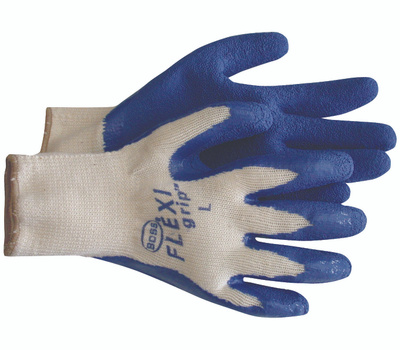 Boss 8426S Flexi Grip Poly Cotton Latex Coated Grip Gloves Small