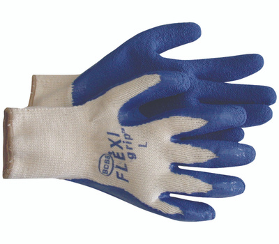 Boss 8426M Flexi Grip Poly Cotton Latex Coated Grip Gloves Medium