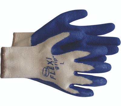 Boss 8426X Flexi Grip Poly Cotton Latex Coated Grip Gloves Extra-Large