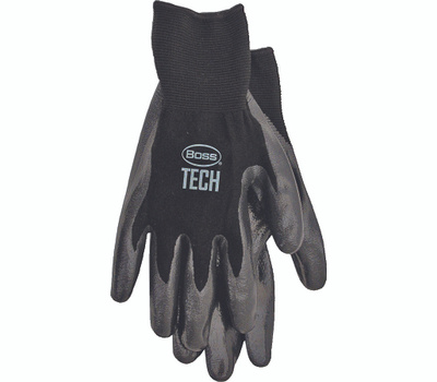 Boss 7820X Chemical Nitrile Foam Back Knit Gloves Extra-Large
