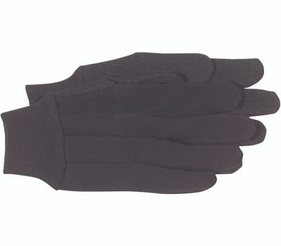 Boss 4024 Jersey Gloves With PVC Dots Large