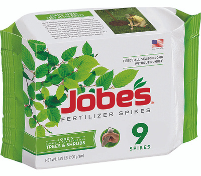 Easy Gardener 01310 Jobes Fertilizer Spike Tree 9 Pack 9 Pack
