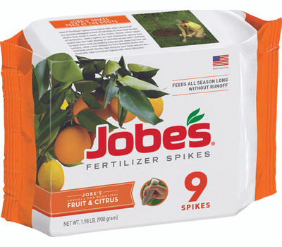 Easy Gardener 01312 Jobes Fertilizer Spike Fruit/Citrus 9 Pack