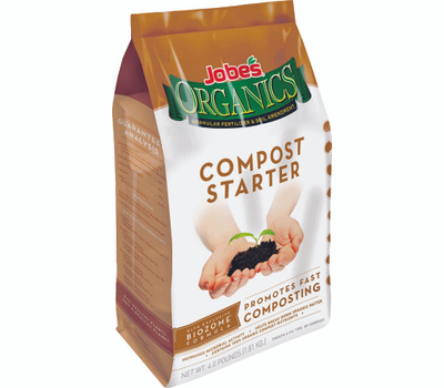 Easy Gardener 09926 Jobes Organics Compost Starter Fertilizer 4 Pound Bag