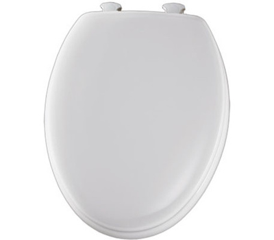 Prime Bemis 144Ec 000 White Elongated Wood Core Toilet Seat Gmtry Best Dining Table And Chair Ideas Images Gmtryco
