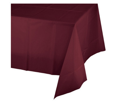 Creative Converting 723122 54x108 Burg Table Cover 073525813240 2