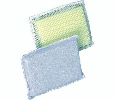 Birdwell Cleaning 353-24 Sponge Scour Terry Cloth/Mesh