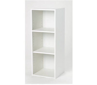 Closet Maid 8987 00 Stackable 3 Shelf Organizer White