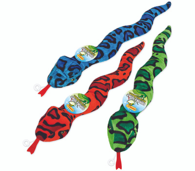 Westminster Pet 16292 Toy Squeaky Snake Fashion Asst