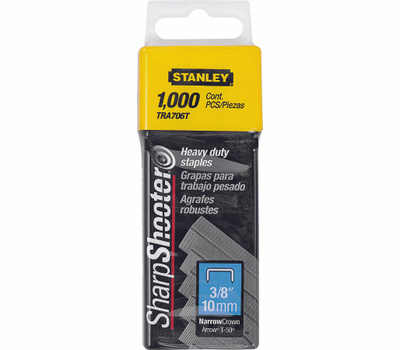Stanley Tools TRA706T Staple 3/8 Inch Heavy Duty Box Of 1000