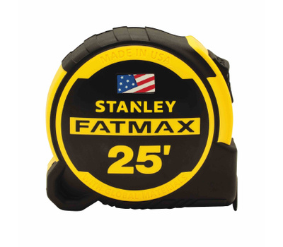 Stanley Tools FMHT36325 FatMax Tape Measure 25 Foot With 13 Foot Standout