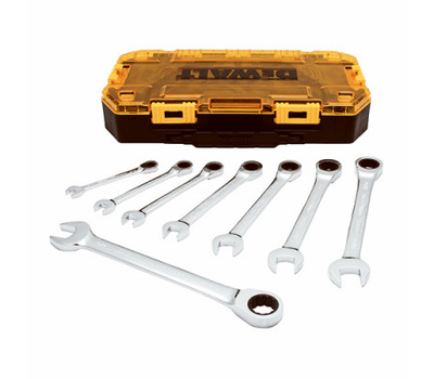 DeWalt DWMT74733 Wrench Sae Ratchet Combo 8pc