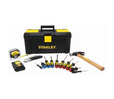 Stanley Tools STST75087 Stanley Homeowners Tool And Tool Box Bundle