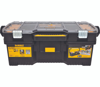 DeWalt DWST24075 Tool Box With Removable Organizer 24 Inch