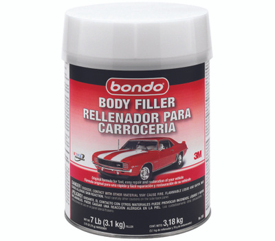 3M 265 Bondo Lightweight Body Filler 1 Gal Can Red Viscous Paste
