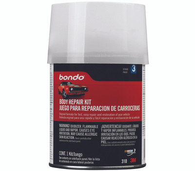 3M 310 Bondo 1 Pint Body Repair Kit
