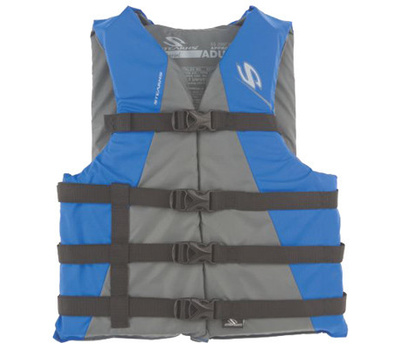 Stearns 3000001714 Blue Boat Adult Vest