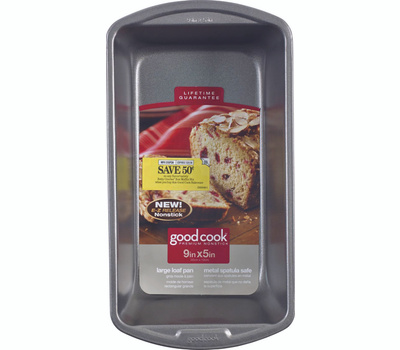 Bradshaw 04026 Good Cook Loaf Pan Nonstick Large 9 By 5 Inches
