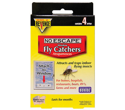 Bonide 46200 Revenge 4PK Window Fly Catcher