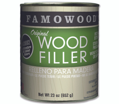 Eclectic 36021128 Famowood Fill Wd Int Ext Oak/Teak Pint
