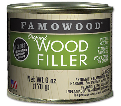 Eclectic 36141124 Famowood Filler Wood Int Ext Maple 6 Ounce