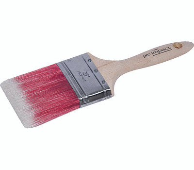 Linzer 1160-3 Pro Impact Tapered Blended Polyester Varnish & Wall Brush 3 Inch