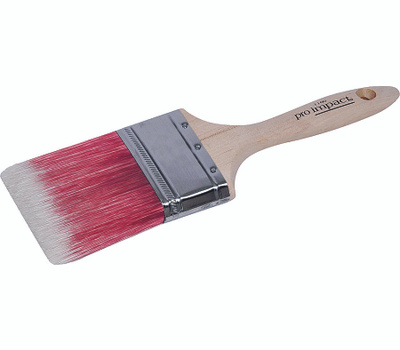 Linzer 1160-1.5 Pro Impact Tapered Blended Polyester Varnish & Wall Brush 1-1/2 Inch