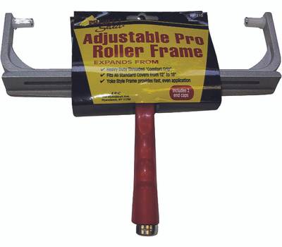 Linzer RF210 12 To 18 Inch Adjustable Professional Paint Roller Frame