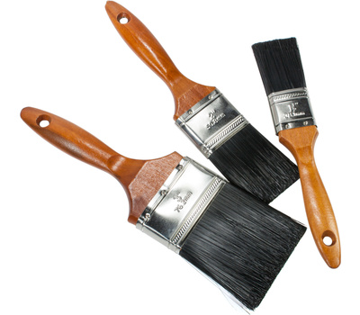 Linzer A225S Project Select 3 Piece Polyester Paint And Varnish Brush Set