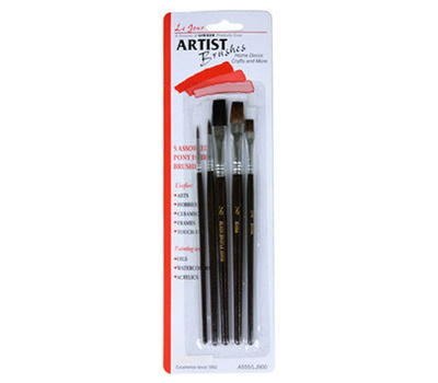 Systems & Sets Testor Corporation 3pk Blu Appl Brsh Kit 8704mt Painting Supplies