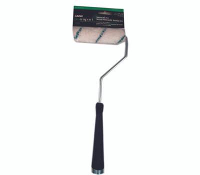 Linzer MT701-11-4 Pro Impact 4 Inch 3/8 Inch Nap Edge Microfiber Roller And 11 Inch Handle