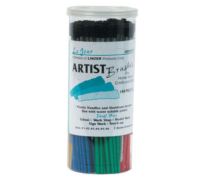 Testor Corporation 3pk Blu Appl Brsh Kit 8704mt Crafts