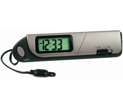 Custom Accessories 11058 DGTL Thermometer/Clock