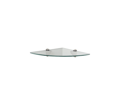 Knape & Vogt KT-0134-1212SN John Sterling Corner Glass Shelf Kit ...