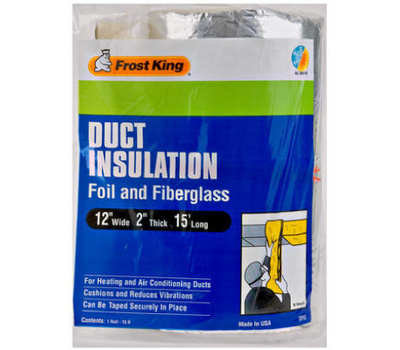 Thermwell SP55/6 Frost King Foil Fiberglass Wrap 2 By 12 By 15 Foot
