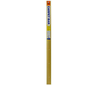 Thermwell H1591FB6 Frost King 2 By 72 Inch Satin Gold Carpet Bar