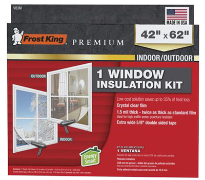 Thermwell V83M Frost King Wndw Insul Shrink Kit 42X62in