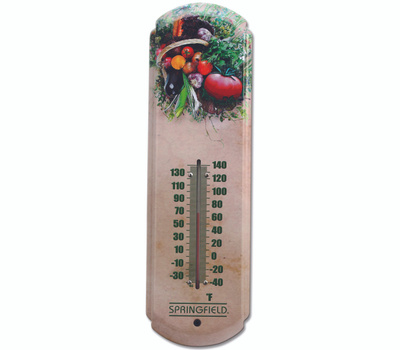 Taylor 98218 Tomatoes Thermometer Outdoor 17In